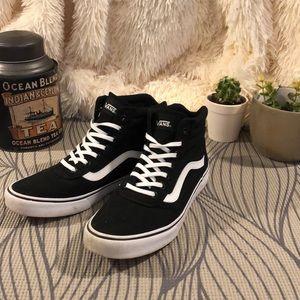 8d47623d10 Vans Shoes - Vans Milton Hi Canvas High-Top Sneaker